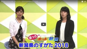新潟県のすがた2018|ほっとホット新潟 平成30年4月21日放送